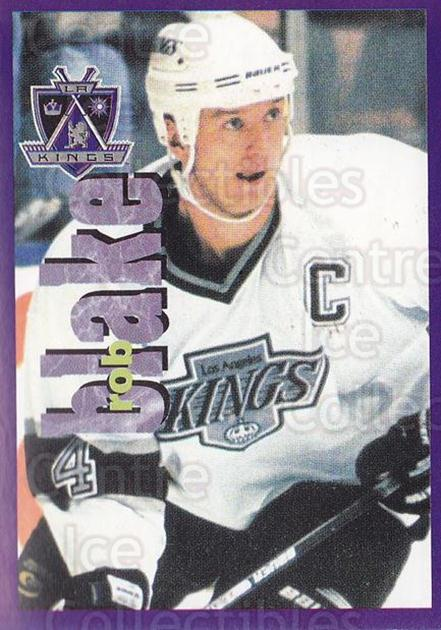 1998-99 Panini Stickers #205 Rob Blake<br/>6 In Stock - $1.00 each - <a href=https://centericecollectibles.foxycart.com/cart?name=1998-99%20Panini%20Stickers%20%23205%20Rob%20Blake...&quantity_max=6&price=$1.00&code=69844 class=foxycart> Buy it now! </a>