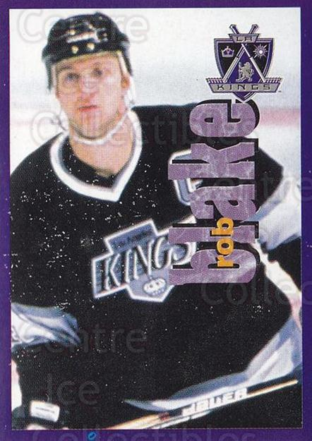 1998-99 Panini Stickers #224 Rob Blake<br/>6 In Stock - $1.00 each - <a href=https://centericecollectibles.foxycart.com/cart?name=1998-99%20Panini%20Stickers%20%23224%20Rob%20Blake...&quantity_max=6&price=$1.00&code=69864 class=foxycart> Buy it now! </a>