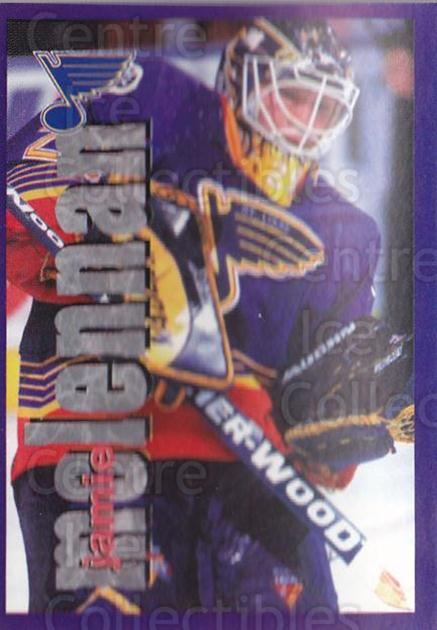 1998-99 Panini Stickers #228 Jamie McLennan<br/>4 In Stock - $1.00 each - <a href=https://centericecollectibles.foxycart.com/cart?name=1998-99%20Panini%20Stickers%20%23228%20Jamie%20McLennan...&quantity_max=4&price=$1.00&code=69868 class=foxycart> Buy it now! </a>