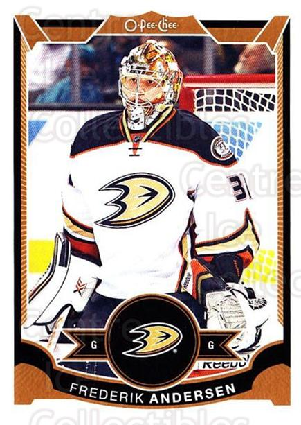 2015-16 O-pee-chee #237 Frederik Andersen<br/>3 In Stock - $1.00 each - <a href=https://centericecollectibles.foxycart.com/cart?name=2015-16%20O-pee-chee%20%23237%20Frederik%20Anders...&quantity_max=3&price=$1.00&code=698708 class=foxycart> Buy it now! </a>