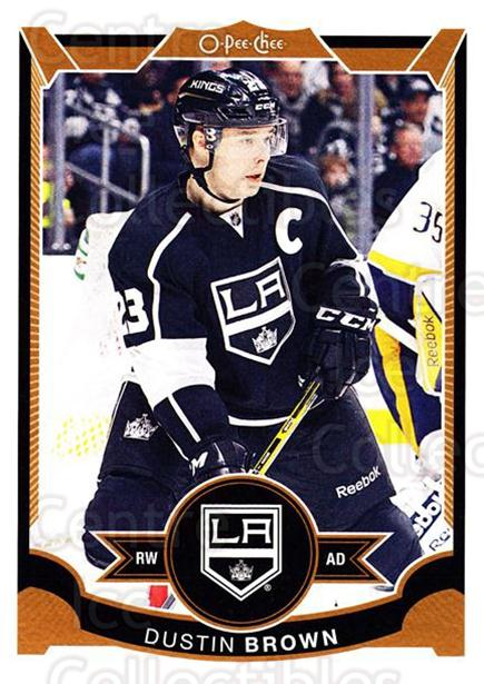 2015-16 O-pee-chee #262 Dustin Brown<br/>5 In Stock - $1.00 each - <a href=https://centericecollectibles.foxycart.com/cart?name=2015-16%20O-pee-chee%20%23262%20Dustin%20Brown...&quantity_max=5&price=$1.00&code=698733 class=foxycart> Buy it now! </a>