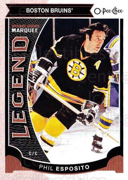 2015-16 O-pee-chee #594 Phil Esposito<br/>2 In Stock - $2.00 each - <a href=https://centericecollectibles.foxycart.com/cart?name=2015-16%20O-pee-chee%20%23594%20Phil%20Esposito...&quantity_max=2&price=$2.00&code=699065 class=foxycart> Buy it now! </a>