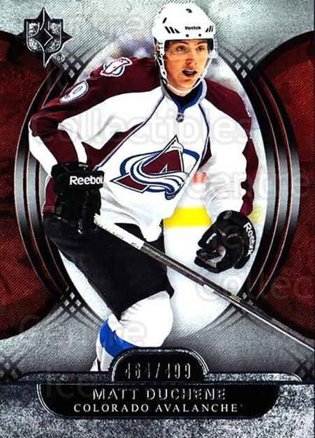 2013-14 UD Ultimate Collection #8 Matt Duchene<br/>1 In Stock - $5.00 each - <a href=https://centericecollectibles.foxycart.com/cart?name=2013-14%20UD%20Ultimate%20Collection%20%238%20Matt%20Duchene...&quantity_max=1&price=$5.00&code=699122 class=foxycart> Buy it now! </a>