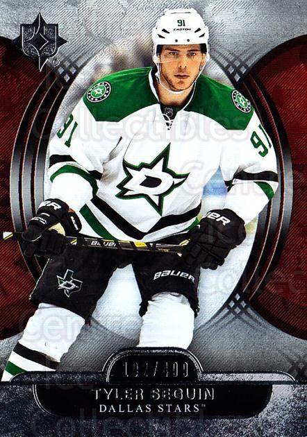 2013-14 UD Ultimate Collection #17 Tyler Seguin<br/>1 In Stock - $5.00 each - <a href=https://centericecollectibles.foxycart.com/cart?name=2013-14%20UD%20Ultimate%20Collection%20%2317%20Tyler%20Seguin...&quantity_max=1&price=$5.00&code=699131 class=foxycart> Buy it now! </a>