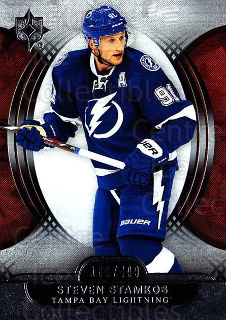 2013-14 UD Ultimate Collection #33 Steven Stamkos<br/>1 In Stock - $5.00 each - <a href=https://centericecollectibles.foxycart.com/cart?name=2013-14%20UD%20Ultimate%20Collection%20%2333%20Steven%20Stamkos...&price=$5.00&code=699147 class=foxycart> Buy it now! </a>