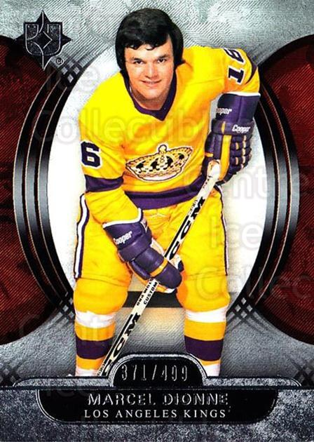 2013-14 UD Ultimate Collection #56 Marcel Dionne<br/>1 In Stock - $5.00 each - <a href=https://centericecollectibles.foxycart.com/cart?name=2013-14%20UD%20Ultimate%20Collection%20%2356%20Marcel%20Dionne...&quantity_max=1&price=$5.00&code=699170 class=foxycart> Buy it now! </a>