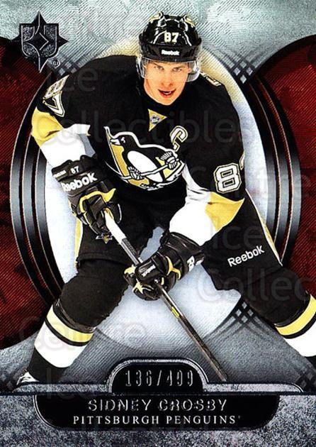 2013-14 UD Ultimate Collection #58 Sidney Crosby<br/>1 In Stock - $15.00 each - <a href=https://centericecollectibles.foxycart.com/cart?name=2013-14%20UD%20Ultimate%20Collection%20%2358%20Sidney%20Crosby...&price=$15.00&code=699172 class=foxycart> Buy it now! </a>
