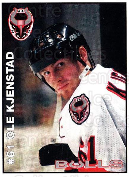 1995-96 Birmingham Bulls #20 Olaf Kjenstad<br/>2 In Stock - $3.00 each - <a href=https://centericecollectibles.foxycart.com/cart?name=1995-96%20Birmingham%20Bulls%20%2320%20Olaf%20Kjenstad...&quantity_max=2&price=$3.00&code=699341 class=foxycart> Buy it now! </a>