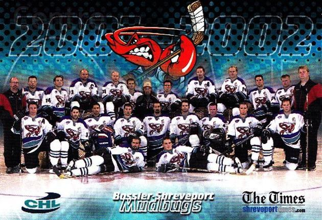 2001-02 Bossier-Shreveport Mudbugs #24 Team Photo<br/>1 In Stock - $3.00 each - <a href=https://centericecollectibles.foxycart.com/cart?name=2001-02%20Bossier-Shreveport%20Mudbugs%20%2324%20Team%20Photo...&quantity_max=1&price=$3.00&code=699374 class=foxycart> Buy it now! </a>