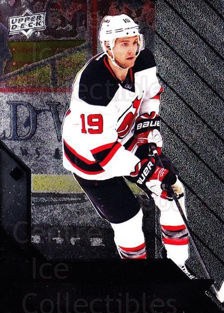 2014-15 Black Diamond #50 Travis Zajac<br/>2 In Stock - $1.00 each - <a href=https://centericecollectibles.foxycart.com/cart?name=2014-15%20Black%20Diamond%20%2350%20Travis%20Zajac...&quantity_max=2&price=$1.00&code=699514 class=foxycart> Buy it now! </a>