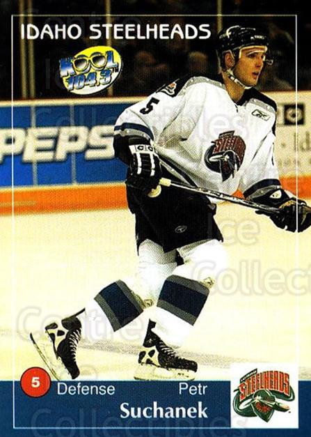2004-05 Idaho Steelheads #19 Petr Suchanek<br/>2 In Stock - $3.00 each - <a href=https://centericecollectibles.foxycart.com/cart?name=2004-05%20Idaho%20Steelheads%20%2319%20Petr%20Suchanek...&quantity_max=2&price=$3.00&code=699829 class=foxycart> Buy it now! </a>