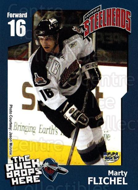 2005-06 Idaho Steelheads #7 Marty Flichel<br/>1 In Stock - $3.00 each - <a href=https://centericecollectibles.foxycart.com/cart?name=2005-06%20Idaho%20Steelheads%20%237%20Marty%20Flichel...&quantity_max=1&price=$3.00&code=699842 class=foxycart> Buy it now! </a>