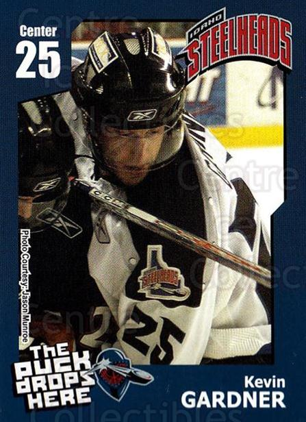 2005-06 Idaho Steelheads #10 Kevin Gardner<br/>1 In Stock - $3.00 each - <a href=https://centericecollectibles.foxycart.com/cart?name=2005-06%20Idaho%20Steelheads%20%2310%20Kevin%20Gardner...&quantity_max=1&price=$3.00&code=699845 class=foxycart> Buy it now! </a>