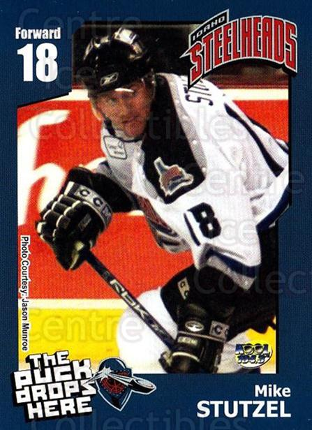2005-06 Idaho Steelheads #20 Mike Stutzel<br/>1 In Stock - $3.00 each - <a href=https://centericecollectibles.foxycart.com/cart?name=2005-06%20Idaho%20Steelheads%20%2320%20Mike%20Stutzel...&quantity_max=1&price=$3.00&code=699849 class=foxycart> Buy it now! </a>