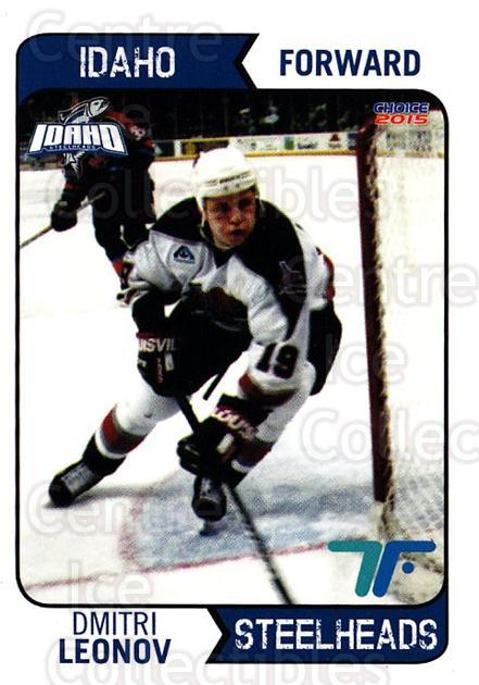 2013-14 Idaho Steelheads Playoff #1 Dmitri Leonov<br/>1 In Stock - $3.00 each - <a href=https://centericecollectibles.foxycart.com/cart?name=2013-14%20Idaho%20Steelheads%20Playoff%20%231%20Dmitri%20Leonov...&quantity_max=1&price=$3.00&code=699853 class=foxycart> Buy it now! </a>