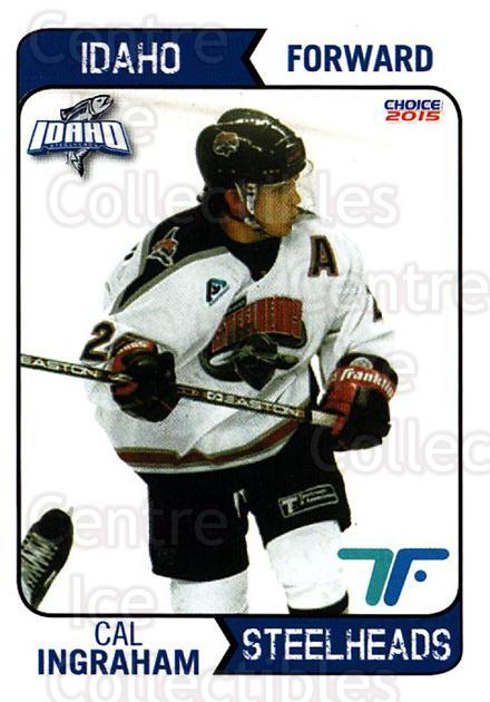 2013-14 Idaho Steelheads Playoff #5 Cal Ingraham<br/>1 In Stock - $3.00 each - <a href=https://centericecollectibles.foxycart.com/cart?name=2013-14%20Idaho%20Steelheads%20Playoff%20%235%20Cal%20Ingraham...&quantity_max=1&price=$3.00&code=699857 class=foxycart> Buy it now! </a>