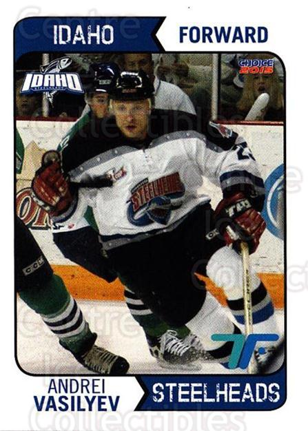 2013-14 Idaho Steelheads Playoff #8 Andrei Vasilyev<br/>1 In Stock - $3.00 each - <a href=https://centericecollectibles.foxycart.com/cart?name=2013-14%20Idaho%20Steelheads%20Playoff%20%238%20Andrei%20Vasilyev...&quantity_max=1&price=$3.00&code=699860 class=foxycart> Buy it now! </a>
