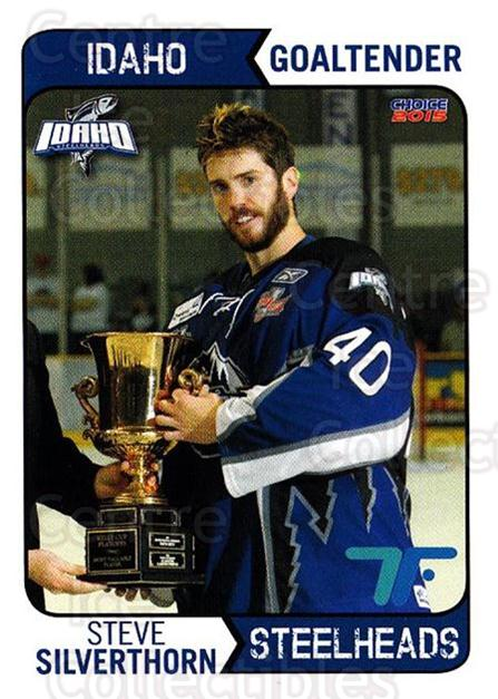 2013-14 Idaho Steelheads Playoff #12 Steve Silverthorn<br/>1 In Stock - $3.00 each - <a href=https://centericecollectibles.foxycart.com/cart?name=2013-14%20Idaho%20Steelheads%20Playoff%20%2312%20Steve%20Silvertho...&quantity_max=1&price=$3.00&code=699864 class=foxycart> Buy it now! </a>
