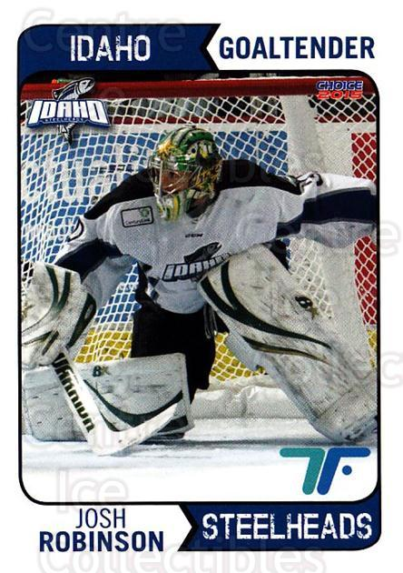 2013-14 Idaho Steelheads Playoff #19 Josh Robinson<br/>1 In Stock - $3.00 each - <a href=https://centericecollectibles.foxycart.com/cart?name=2013-14%20Idaho%20Steelheads%20Playoff%20%2319%20Josh%20Robinson...&quantity_max=1&price=$3.00&code=699871 class=foxycart> Buy it now! </a>