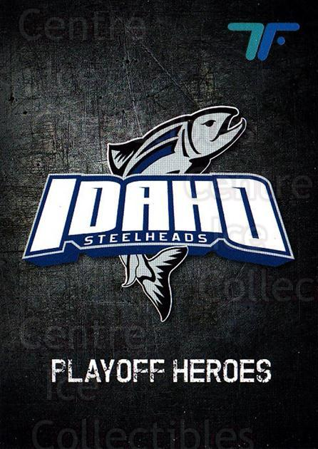 2013-14 Idaho Steelheads Playoff #20 Idaho Steelheads, Checklist<br/>1 In Stock - $3.00 each - <a href=https://centericecollectibles.foxycart.com/cart?name=2013-14%20Idaho%20Steelheads%20Playoff%20%2320%20Idaho%20Steelhead...&quantity_max=1&price=$3.00&code=699872 class=foxycart> Buy it now! </a>