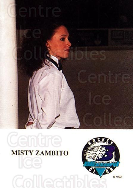 1993-94 Huntington Blizzard #21 Misty Zambito<br/>1 In Stock - $3.00 each - <a href=https://centericecollectibles.foxycart.com/cart?name=1993-94%20Huntington%20Blizzard%20%2321%20Misty%20Zambito...&quantity_max=1&price=$3.00&code=700012 class=foxycart> Buy it now! </a>