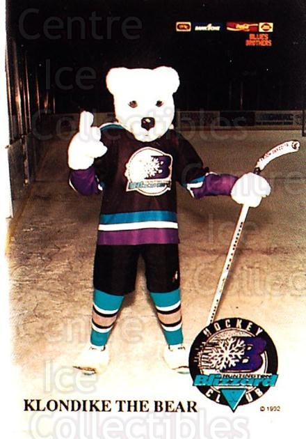1993-94 Huntington Blizzard #22 Mascot<br/>1 In Stock - $3.00 each - <a href=https://centericecollectibles.foxycart.com/cart?name=1993-94%20Huntington%20Blizzard%20%2322%20Mascot...&quantity_max=1&price=$3.00&code=700013 class=foxycart> Buy it now! </a>