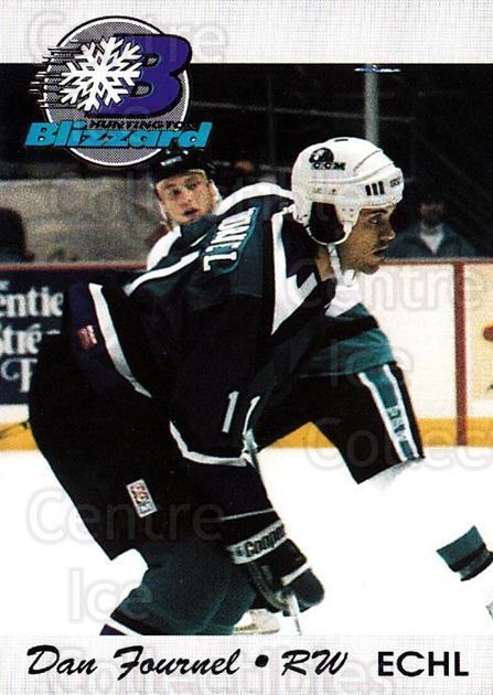 1994-95 Huntington Blizzard #9 Dan Fournel<br/>1 In Stock - $3.00 each - <a href=https://centericecollectibles.foxycart.com/cart?name=1994-95%20Huntington%20Blizzard%20%239%20Dan%20Fournel...&quantity_max=1&price=$3.00&code=700027 class=foxycart> Buy it now! </a>