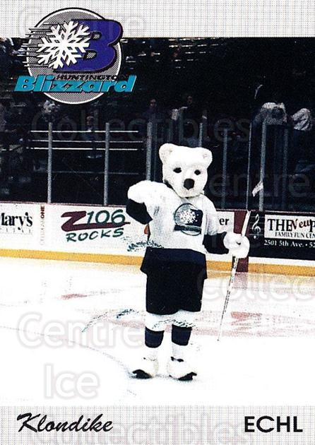 1994-95 Huntington Blizzard #24 Mascot<br/>1 In Stock - $3.00 each - <a href=https://centericecollectibles.foxycart.com/cart?name=1994-95%20Huntington%20Blizzard%20%2324%20Mascot...&quantity_max=1&price=$3.00&code=700042 class=foxycart> Buy it now! </a>