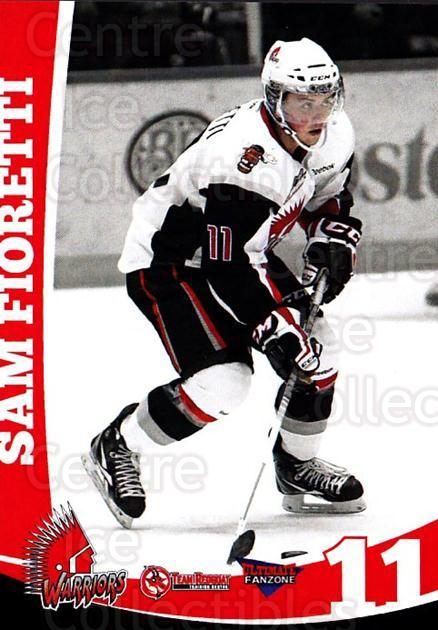 2012-13 Moose Jaw Warriors #5 Sam Fioretti<br/>1 In Stock - $3.00 each - <a href=https://centericecollectibles.foxycart.com/cart?name=2012-13%20Moose%20Jaw%20Warriors%20%235%20Sam%20Fioretti...&quantity_max=1&price=$3.00&code=700079 class=foxycart> Buy it now! </a>
