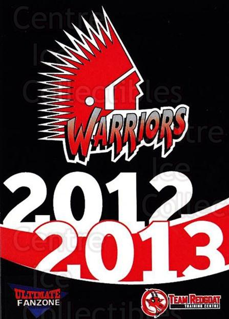 2012-13 Moose Jaw Warriors #24 Header Card<br/>1 In Stock - $3.00 each - <a href=https://centericecollectibles.foxycart.com/cart?name=2012-13%20Moose%20Jaw%20Warriors%20%2324%20Header%20Card...&price=$3.00&code=700098 class=foxycart> Buy it now! </a>