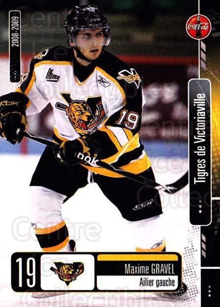 2008-09 Victoriaville Tigres #3 Maxime Gravel<br/>1 In Stock - $3.00 each - <a href=https://centericecollectibles.foxycart.com/cart?name=2008-09%20Victoriaville%20Tigres%20%233%20Maxime%20Gravel...&quantity_max=1&price=$3.00&code=700357 class=foxycart> Buy it now! </a>
