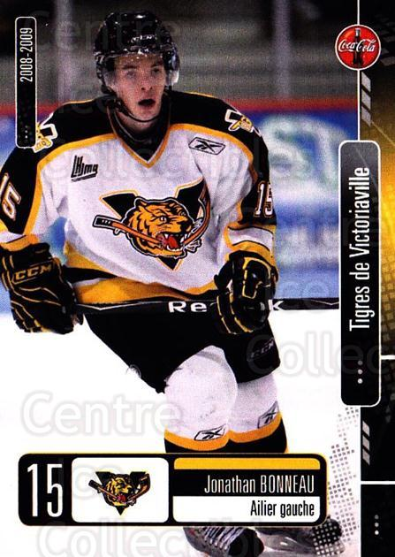 2008-09 Victoriaville Tigres #11 Jonathan Bonneau<br/>1 In Stock - $3.00 each - <a href=https://centericecollectibles.foxycart.com/cart?name=2008-09%20Victoriaville%20Tigres%20%2311%20Jonathan%20Bonnea...&quantity_max=1&price=$3.00&code=700365 class=foxycart> Buy it now! </a>