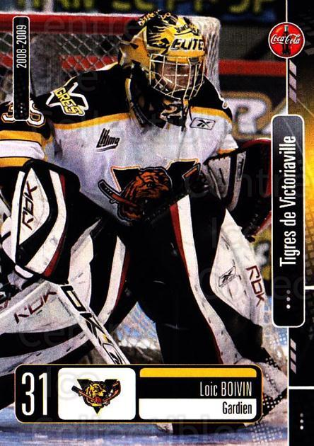 2008-09 Victoriaville Tigres #13 Loic Boivin<br/>1 In Stock - $3.00 each - <a href=https://centericecollectibles.foxycart.com/cart?name=2008-09%20Victoriaville%20Tigres%20%2313%20Loic%20Boivin...&quantity_max=1&price=$3.00&code=700367 class=foxycart> Buy it now! </a>