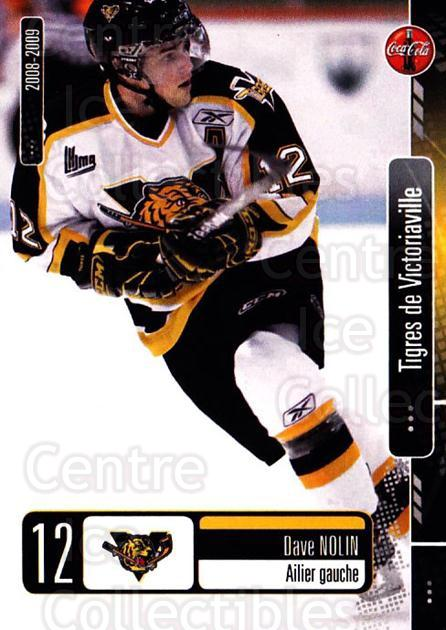 2008-09 Victoriaville Tigres #16 Dave Nolin<br/>1 In Stock - $3.00 each - <a href=https://centericecollectibles.foxycart.com/cart?name=2008-09%20Victoriaville%20Tigres%20%2316%20Dave%20Nolin...&quantity_max=1&price=$3.00&code=700370 class=foxycart> Buy it now! </a>