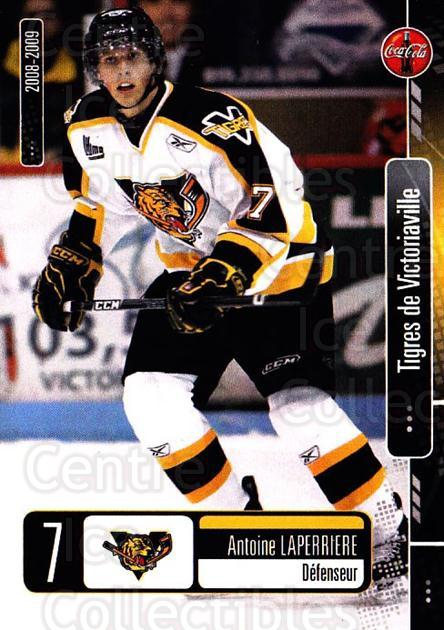 2008-09 Victoriaville Tigres #17 Antoine Laperriere<br/>1 In Stock - $3.00 each - <a href=https://centericecollectibles.foxycart.com/cart?name=2008-09%20Victoriaville%20Tigres%20%2317%20Antoine%20Laperri...&quantity_max=1&price=$3.00&code=700371 class=foxycart> Buy it now! </a>