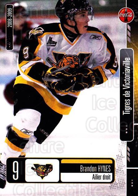 2008-09 Victoriaville Tigres #19 Brandon Hynes<br/>1 In Stock - $3.00 each - <a href=https://centericecollectibles.foxycart.com/cart?name=2008-09%20Victoriaville%20Tigres%20%2319%20Brandon%20Hynes...&quantity_max=1&price=$3.00&code=700373 class=foxycart> Buy it now! </a>