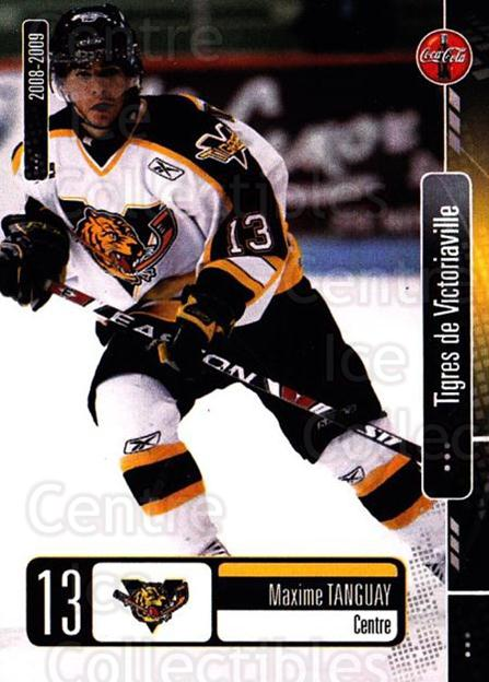 2008-09 Victoriaville Tigres #21 Maxime Tanguay<br/>1 In Stock - $3.00 each - <a href=https://centericecollectibles.foxycart.com/cart?name=2008-09%20Victoriaville%20Tigres%20%2321%20Maxime%20Tanguay...&quantity_max=1&price=$3.00&code=700375 class=foxycart> Buy it now! </a>