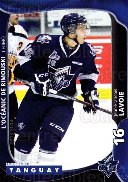 2013-14 Rimouski Oceanic #6 Jean-Francois Lavoie<br/>2 In Stock - $3.00 each - <a href=https://centericecollectibles.foxycart.com/cart?name=2013-14%20Rimouski%20Oceanic%20%236%20Jean-Francois%20L...&quantity_max=2&price=$3.00&code=700383 class=foxycart> Buy it now! </a>