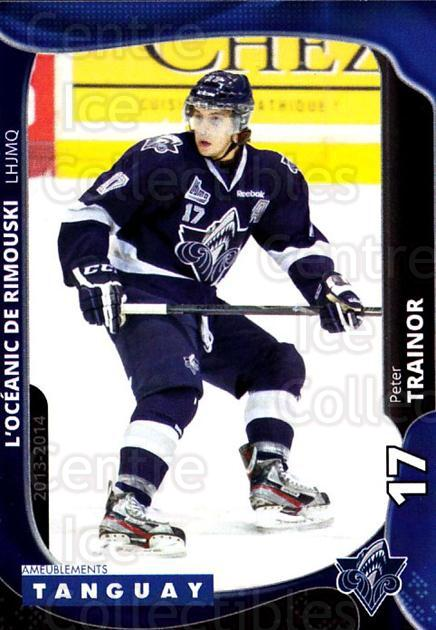 2013-14 Rimouski Oceanic #7 Peter Trainor<br/>2 In Stock - $3.00 each - <a href=https://centericecollectibles.foxycart.com/cart?name=2013-14%20Rimouski%20Oceanic%20%237%20Peter%20Trainor...&quantity_max=2&price=$3.00&code=700384 class=foxycart> Buy it now! </a>