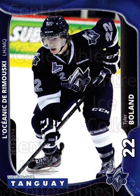 2013-14 Rimouski Oceanic #10 Tyler Boland<br/>2 In Stock - $3.00 each - <a href=https://centericecollectibles.foxycart.com/cart?name=2013-14%20Rimouski%20Oceanic%20%2310%20Tyler%20Boland...&quantity_max=2&price=$3.00&code=700387 class=foxycart> Buy it now! </a>