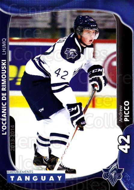 2013-14 Rimouski Oceanic #14 Andrew Picco<br/>2 In Stock - $3.00 each - <a href=https://centericecollectibles.foxycart.com/cart?name=2013-14%20Rimouski%20Oceanic%20%2314%20Andrew%20Picco...&quantity_max=2&price=$3.00&code=700391 class=foxycart> Buy it now! </a>