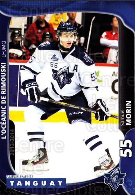 2013-14 Rimouski Oceanic #17 Samuel Morin<br/>2 In Stock - $3.00 each - <a href=https://centericecollectibles.foxycart.com/cart?name=2013-14%20Rimouski%20Oceanic%20%2317%20Samuel%20Morin...&quantity_max=2&price=$3.00&code=700394 class=foxycart> Buy it now! </a>