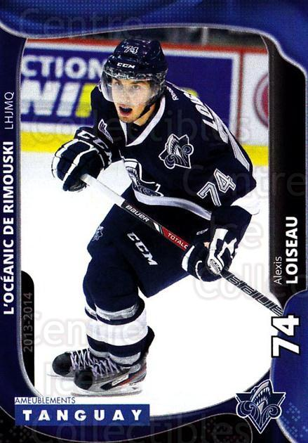 2013-14 Rimouski Oceanic #21 Alexis Loiseau<br/>1 In Stock - $3.00 each - <a href=https://centericecollectibles.foxycart.com/cart?name=2013-14%20Rimouski%20Oceanic%20%2321%20Alexis%20Loiseau...&quantity_max=1&price=$3.00&code=700398 class=foxycart> Buy it now! </a>