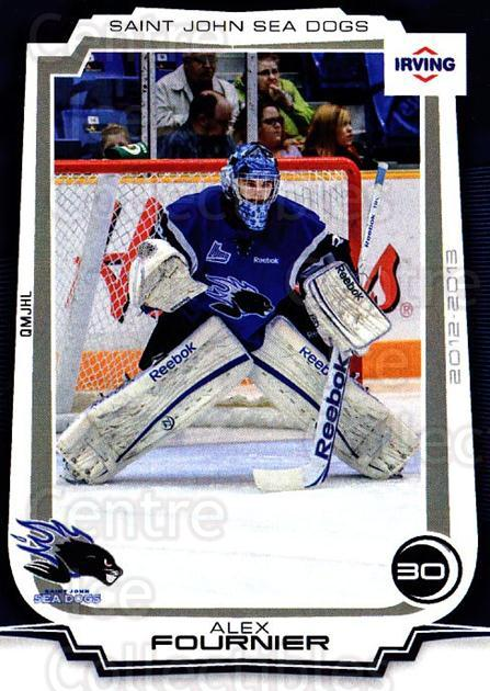 2012-13 Saint John Sea Dogs #3 Alex Fournier<br/>1 In Stock - $3.00 each - <a href=https://centericecollectibles.foxycart.com/cart?name=2012-13%20Saint%20John%20Sea%20Dogs%20%233%20Alex%20Fournier...&quantity_max=1&price=$3.00&code=700403 class=foxycart> Buy it now! </a>