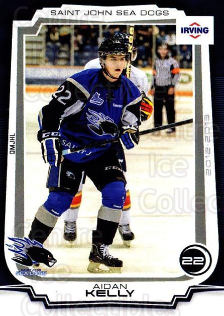 2012-13 Saint John Sea Dogs #9 Aidan Kelly<br/>1 In Stock - $3.00 each - <a href=https://centericecollectibles.foxycart.com/cart?name=2012-13%20Saint%20John%20Sea%20Dogs%20%239%20Aidan%20Kelly...&quantity_max=1&price=$3.00&code=700409 class=foxycart> Buy it now! </a>