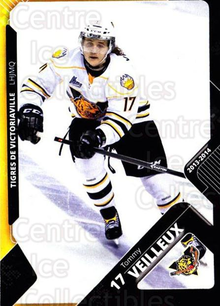 2013-14 Victoriaville Tigres #8 Tommy Veilleux<br/>2 In Stock - $3.00 each - <a href=https://centericecollectibles.foxycart.com/cart?name=2013-14%20Victoriaville%20Tigres%20%238%20Tommy%20Veilleux...&quantity_max=2&price=$3.00&code=700432 class=foxycart> Buy it now! </a>