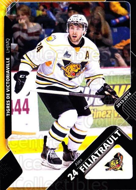 2013-14 Victoriaville Tigres #12 Alex Filiatrault<br/>2 In Stock - $3.00 each - <a href=https://centericecollectibles.foxycart.com/cart?name=2013-14%20Victoriaville%20Tigres%20%2312%20Alex%20Filiatraul...&quantity_max=2&price=$3.00&code=700436 class=foxycart> Buy it now! </a>