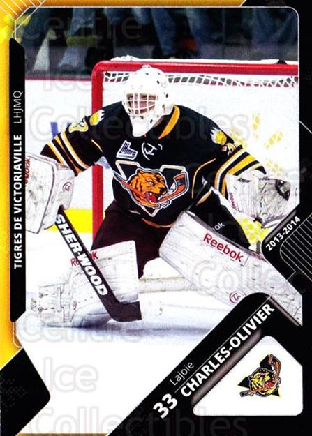 2013-14 Victoriaville Tigres #17 Charles-Olivier Lajoie<br/>2 In Stock - $3.00 each - <a href=https://centericecollectibles.foxycart.com/cart?name=2013-14%20Victoriaville%20Tigres%20%2317%20Charles-Olivier...&quantity_max=2&price=$3.00&code=700441 class=foxycart> Buy it now! </a>