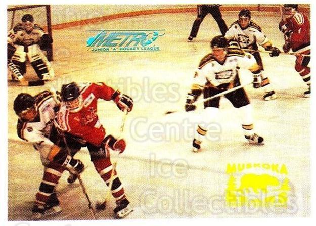 Center Ice Collectibles - Muskoka Bears Hockey Cards