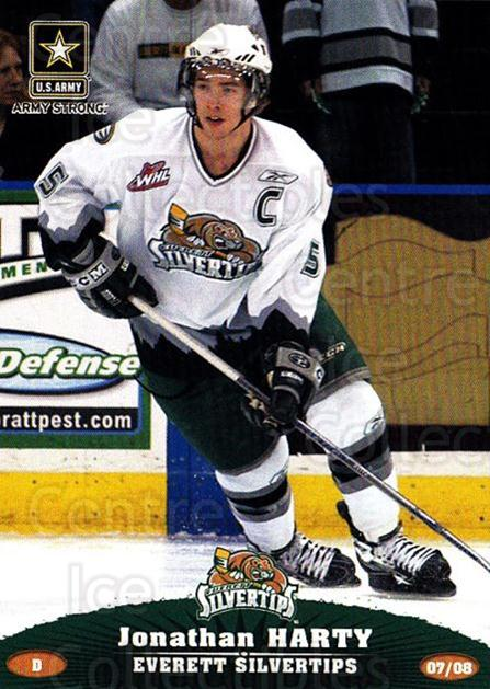 2007-08 Everett Silvertips #14 Jonathan Harty<br/>2 In Stock - $3.00 each - <a href=https://centericecollectibles.foxycart.com/cart?name=2007-08%20Everett%20Silvertips%20%2314%20Jonathan%20Harty...&price=$3.00&code=700626 class=foxycart> Buy it now! </a>